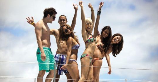 Happy Peeps on a Boat